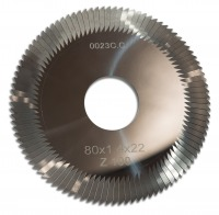 Фреза RAISE 0023C.C. CARBIDE Ø80*1.4*Ø22*100T